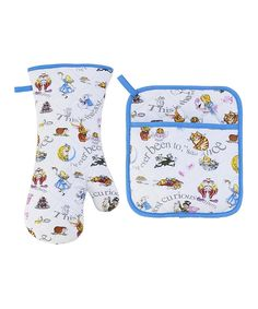 Look at this Alice in Wonderland Oven Mitt & Potholder Set on #zulily today!
