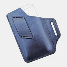 Cow Leather, Leather Craft, Leather Bag, Edc, Leather Fashion, Men Fashion, Fashion Outfits, Casual Boots, Phone Holder