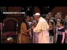 http://www.romereports.com/palio/el-papa-francisco-saluda-a-un-grupo-de-indigenas-en-brasil-spanish-10678.html#.UfYpZI17IVU El Papa Francisco saluda a un grupo de indígenas en Brasil