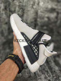 Boty · Off-White x Adidas NMD HU Pharrell Human Race   White Black  7ea2089a03