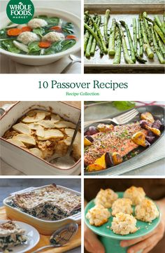 10 Passover Recipes // Ideas for a delicious Passover Seder, plus recipes for leftover matzoh, Charoset, Kugel and more!