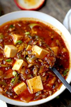 Make this mapo tofu at home and never order it again! Mushrooms make this vegan mapo tofu recipe tastier and healthier than the ground meat version. Plus, they crank the level of umami up to 11!