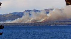 Piedra del Aguila.-: Furioso incendio camino a Villa La Angostura: ¿Cóm...