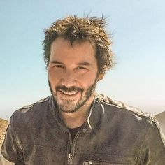 I adore Keanu, his quotes and interviews the way he holds himself. And especially happy relaxed natural px.