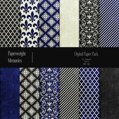 Patterned Paper - Royal Affair. Patterns