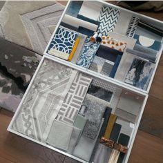 Scheming for a very exciting new London project Presentation Logo, Interior Design Presentation, Project Presentation, Interior Design Tool Kit, Interior Design Boards, Material Library, Material Board, Mood Board Interior, Boutique Decor