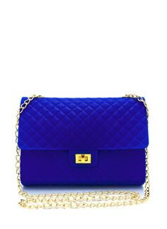 Every fashionista has (or at least wants) a quilted clutch, but this silicone clutch is a fun and funky update on a classic standby.