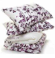 RANSBY Duvet cover by IKEA, Purple floral