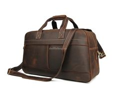 mens leather duffle travel bag Leather Duffle Bag, Leather Luggage, Leather Briefcase, Duffel Bag, Cow Leather, Crossbody Bags, Tote Bag, Handbags For Men, Leather Handbags