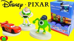 Disney Pixar Deluxe Mini Figurines in Surprise Capsules