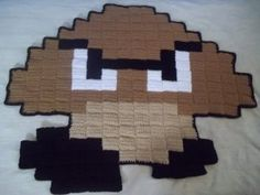 goomba pixel blanket