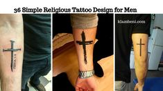 36 Simple Religious Tattoo Design for Men Religious body art might just be the upcoming huge thing.