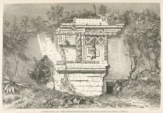 Entwined serpents over a doorway. From New York Public Library Digital Collections. Tikal, Maya Civilization, Western World, English Artists, Mayan Ruins, Art Graphique, New York Public Library, Ancient History, Archaeology