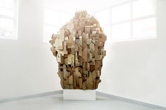 Sprawling Cardboard Architecture by Nina Lindgren (Yes, even cardboard can be beautiful!)