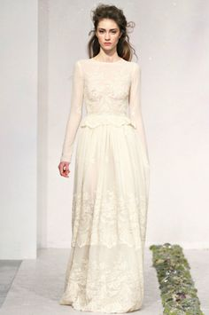 Luisa Beccaria 2012 Fall RTW - one of the most gorgeous dresses I've ever seen.