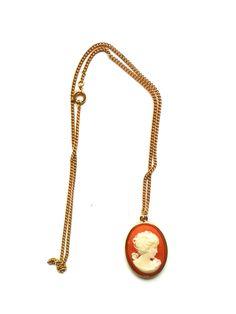 RHK1019 - Halskette Für Sie gefunden: Traumhafte Kette mit Anhänger - Original Modeschmuck der 60-ziger Da es sich nicht um neue Ware (Antiquitäten) handelt, gibt es das Produkt in der Regel nur als Einzelstück.