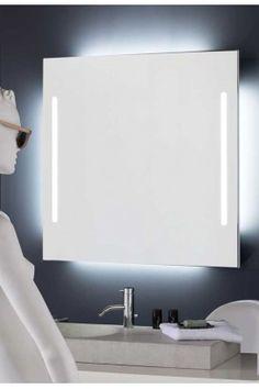 TUBE 2 OUT Descripción: colección de espejos con canto recto y doble iluminación interior.  Retroiluminado por su parte trasera con tubo fluorescente.  Incluye sistema de fijación.  Materiales: cristal 4 mm.  Acabados: natural.  Diseño: Eco.estudio.  Su Misura: con la posibilidad de fabricar el espejo a la medida deseada.  Pásanos tu medida y te cotizamos precio.  Estancias: baño, dormitorio, recibidor y salón.