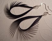 Goose Biot Earrings! Craft Items, Clothes Hanger, Feathers, Earrings, Crafts, Coat Hanger, Ear Rings, Stud Earrings, Manualidades