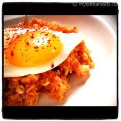 Kimchi Fried Rice aka Kimchi Bokkeumbab  www.facebook.com/mykoreaneats