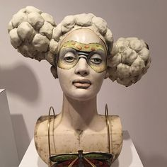 Had to share this great show at Blue Spiral @bluespiral1 in Asheville NC of work by Lisa Clague. Her work is so well crafted and her talent is unique and elegant. Just was blown away by this show. #ceramic_sculpture_culture #ceramicsculptureculture #ceramics
