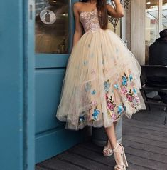 Charming Prom Dress,Tulle Prom Dress,Sweetheart Prom Dresses,Appliques Prom Dress from Babystyle Mid Length Wedding Dresses, Wedding Dresses Photos, Bridal Dresses, Bridesmaid Dresses, Bridal Gown, Wedding Gowns, Sweetheart Prom Dress, Tulle Prom Dress, Homecoming Dresses