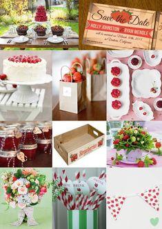 Strawberry Themed Wedding - Moody Monday - The Wedding Community Blog
