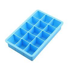 LetGoShop 15-Cavity Square silicone mold for Soap, Cake, ...