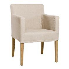 Avignon Slipcover Arm Chair @Zinc_Door