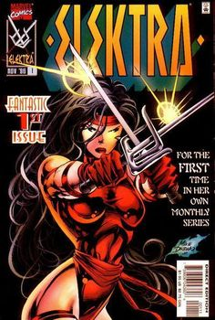 Elektra vol 1 # 1 I loved this series. I have the entire collection.