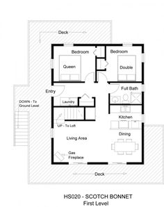 best-3-bedroom-floor-plan-simple-house-plans (480×395) | small