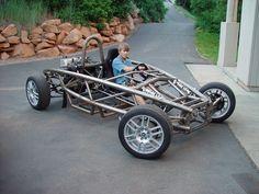 Ariel Atom, Cycle Kart, Kart Cross, Diy Go Kart, Tube Chassis, Sand Rail, Buggy, Pedal Cars, Diy Car