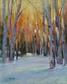 Winter Aspens, by Karen Margulis