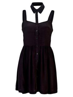 Black dress with a twist.....................