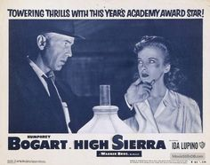 High Sierra Lobby card