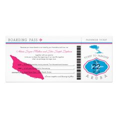 See MoreBoarding Pass to Aruba Wedding InvitationYes I can say you are on right site we just collected best shopping store that have