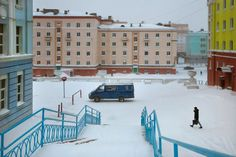 Russia, Norilsk by Christophe Jacrot Christophe Jacrot, Snow Blizzard, French Photographers, Street Photography, Russia, Around The Worlds, Environment, Street View, Europe