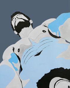 Bobby van Druff - Born in New York, 1977 Malegraph No. 50