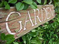 Secret garden sign?