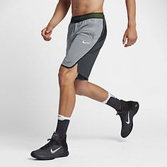 Nike Aeroswift Men's Basketball Shorts Size Large (Grey) – Clearance Sale Nike Wear, Gym Wear, Athletic Outfits, Sport Outfits, Basketball Court Layout, Basketball Hoop, Baskets, La Mode Masculine, Casual Wear For Men
