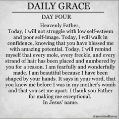 Daily Grace Day Four