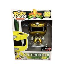 In stock and ready to rock! Get it while its hot! http://www.collekt.co.uk/products/mighty-morphin-power-rangers-yellow-ranger-metallic-362?utm_campaign=social_autopilot&utm_source=pin&utm_medium=pin #Funko #funkopop #Funkouk