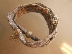 Wickelarmband aus stoff von bling bling auf DaWanda.com