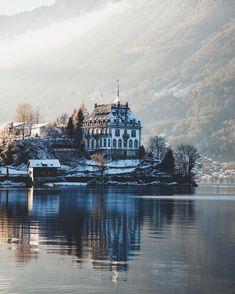 Schloss Seeburg, Iseltwald, Switzerland