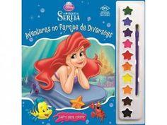 Aquarela Disney - A Pequena Sereia - DCL com as melhores condições você encontra no Magazine Ciabella. Confira!
