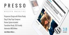 PRESSO - Clean & Modern Magazine Theme (Blog / Magazine)