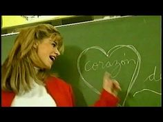 TV / Corazón de tiza - Flavia Palmiero [Videoclip 1992] / Canal 9 - YouTube