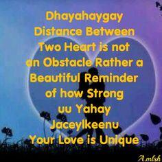 "Long distance love """"Jacaylka kala fog"""""