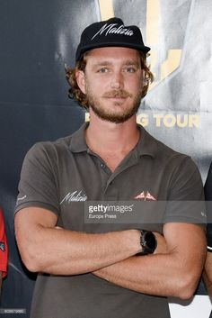 Pierre Casiraghi attends the presentation of the sailing race, GC32 Racing Tour on September 21, 2016 in Sotogrande, Spain.