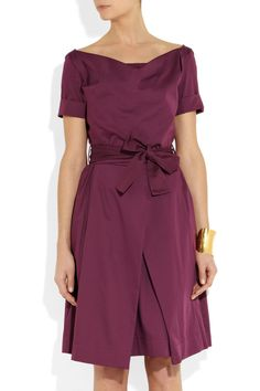 Vivienne Westwood Anglomania | Petal cotton dress | NET-A-PORTER.COM