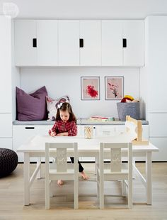 Basement makeover: Functional family playroom {PHOTO: Stacey Brandford}